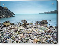 Acrylic Print featuring the photograph Rocky Beach by James Billings