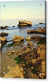 Rocky Beach Acrylic Print by Marty Koch