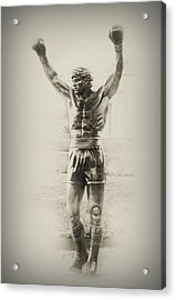 Rocky Acrylic Print by Bill Cannon