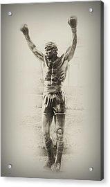 Rocky Acrylic Print by Bill Cannon