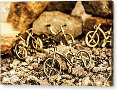 Rocky Cape Bicycles Acrylic Print