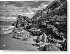 Rocky China Beach San Francisco Acrylic Print
