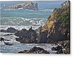 Rocky Coast Acrylic Print