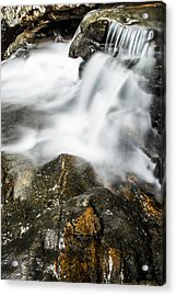 Rocky Collision Acrylic Print by Shelby  Young
