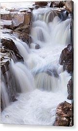 Rocky Gorge Falls Acrylic Print