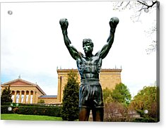 Acrylic Print featuring the photograph Rocky I by Greg Fortier