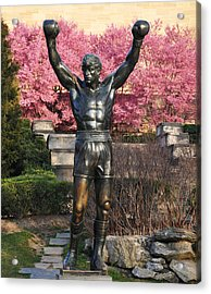 Rocky In Spring Acrylic Print by Bill Cannon