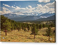Acrylic Print featuring the photograph Rocky Mountain Afternoon High by James BO Insogna