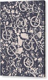 Rocky Mountain Bike Trail Acrylic Print