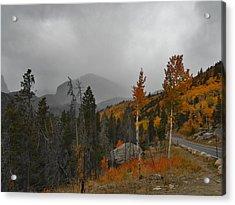 Rocky Mountain Color Acrylic Print