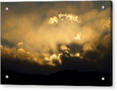 Rocky Mountain Continental Divide Sunset Acrylic Print by James BO  Insogna