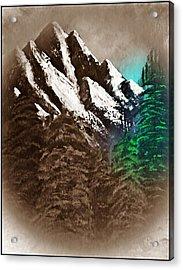 Rocky Mountain High Number Nine Acrylic Print