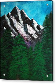 Rocky Mountain High Number One Point Five Acrylic Print