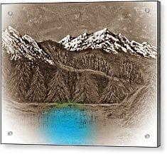 Rocky Mountain High Number Twelve Acrylic Print