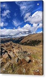Rocky Mountain National Park Colorado Acrylic Print
