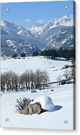 Rocky Mountain National Park Acrylic Print by Julie Rideout