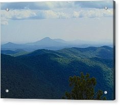 Rocky Mountain Overlook On The At Acrylic Print