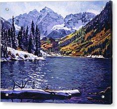 Rocky Mountain Serenity Acrylic Print