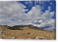 Rocky Mountain Tundra Acrylic Print