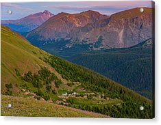 Rocky Mountain Wilderness Acrylic Print by Darren  White