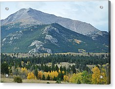 Rocky Mountains Acrylic Print