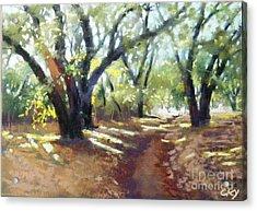 Rocky Oak Park Acrylic Print