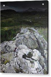 Rocky Outcrop Acrylic Print by Harry Robertson