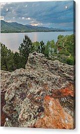 Rocky Overlook At Horsetooth Reservoir Acrylic Print