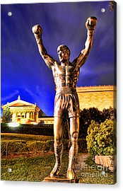Rocky Acrylic Print by Paul Ward