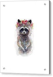 Rocky Raccoon Acrylic Print