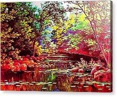 Rocky Rainbow River Acrylic Print
