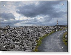 Rocky Road To The Lighthouse Acrylic Print