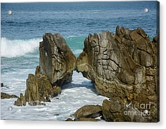 Acrylic Print featuring the photograph Rocky Romance by Susan Wiedmann