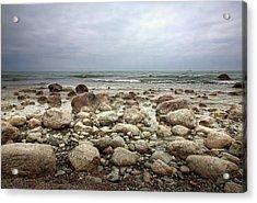 Rocky Shore Acrylic Print by Stefan Nielsen