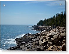 Rocky Summer Shore Acrylic Print