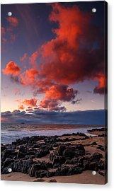 Rocky Sunset Acrylic Print