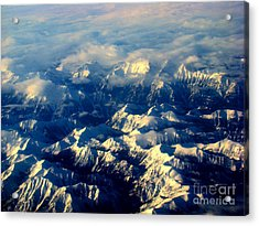 Rocky Tops Acrylic Print by Al Bourassa