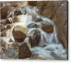 Rocky Water Acrylic Print