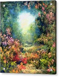 Rococo Delight Acrylic Print by Hannibal Mane