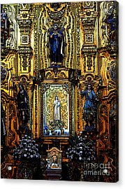 Splendor, Cathedral, Mexico City Acrylic Print
