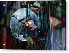 Rod And Reel Acrylic Print