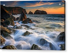 Rodeo Beach Acrylic Print by Rick Berk