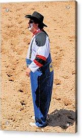 Rodeo Clowns Acrylic Print by Cheryl Poland