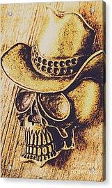 Rodeo Spook Acrylic Print