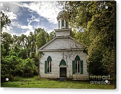 Rodney Baptist Church Acrylic Print by Joan McCool