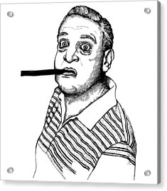 Rodney Dangerfield Acrylic Print by Karl Addison
