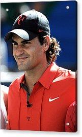 Roger Federer In Attendance For Arthur Acrylic Print