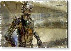 Rogue One 3b6-7 Threebee - Pa Acrylic Print