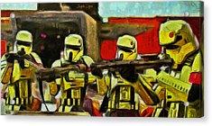 Rogue One Arrested - Pa Acrylic Print by Leonardo Digenio