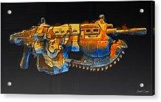Rogue One The Cutting Edge Weapon - Da Acrylic Print by Leonardo Digenio
